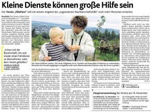 Aachener Nachrichten vom 04.11.2012