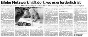 Aachener Nachrichten vom 21.02.2012