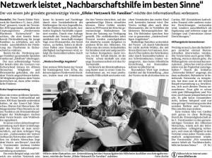 Aachener Nachrichten vom 30.11.2011