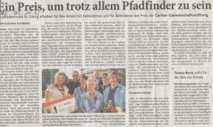 Aachener Zeitung vom 02.10.2013